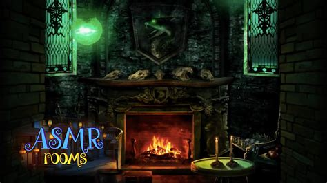 harry potter asmr slytherin common room pov hd ambient