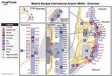 Barajas Airport Terminal Map   International Map