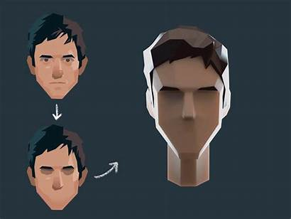 Poly Low 3d Concept Character Characters Vr