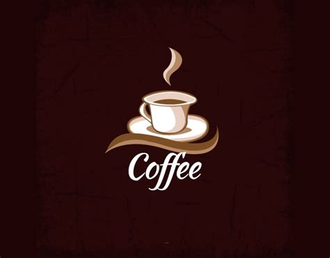 If you want your coffee logo design to be unique, you should go with something that isn't that coffee related, like a smooth blue color. 19+ Free Coffee Logos | Free & Premium Templates