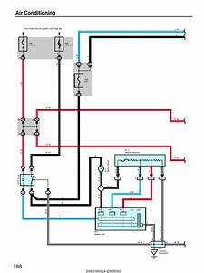 2004 Corolla Air Conditioning Wiring Diagram