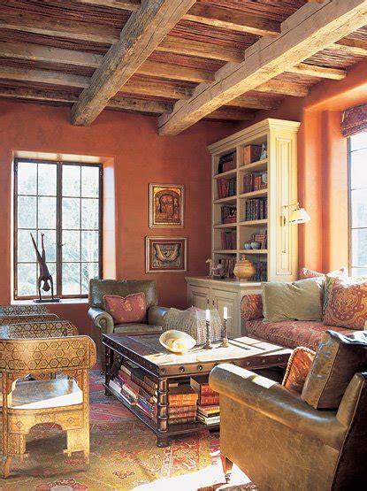 spanish colonial interiors decor  adore