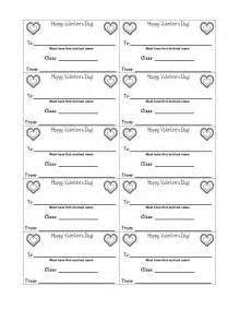 Printable Valentine Candy Grams Templates