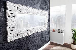 Barock Spiegel Xxl : riesiger barock spiegel venice silber antik 90x180cm riess ambiente onlineshop ~ Frokenaadalensverden.com Haus und Dekorationen