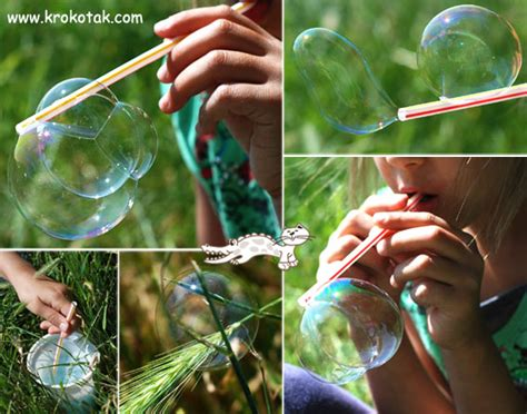 krokotak soap bubble recipes