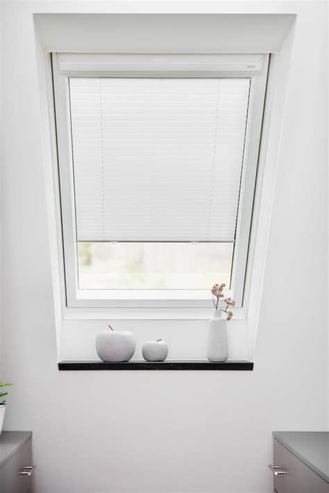 plissee rollo für dachfenster dachfenster plissee haftfix ohne bohren rollo velux sonnenschutz ebay