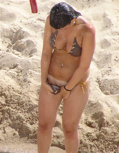 Showerrubinga5 Porn Pic From Beach Shower