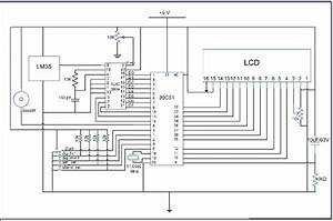 Circuit Diagram For Temperature Control System Project