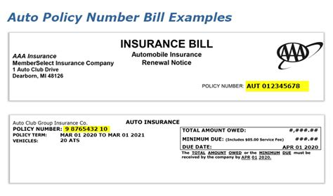 aaa find  auto insurance policy number group