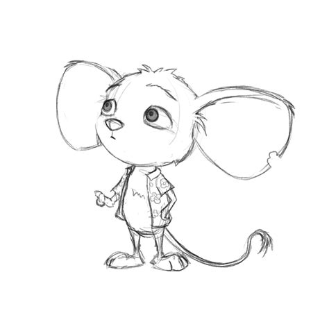 original sketch  reese animal drawings