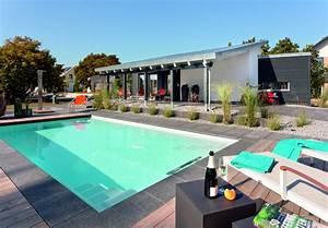amenagement jardin paysager autour dune piscine 40 idees With jardin paysager avec piscine 3 idee jardin paysagiste with mediterraneen piscine