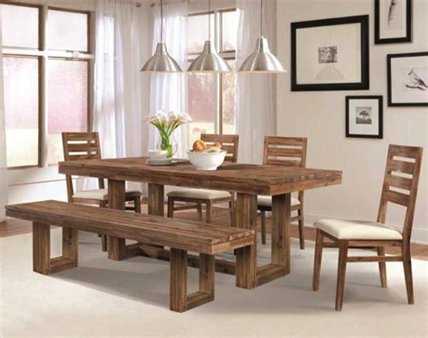 bench style table and chairs furniture wonderful wood dining tables with benches