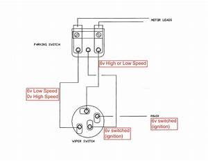 Wiper Motor Wiring 51-52