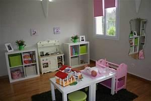 decoration salle de jeux fille With pour salle de jeux