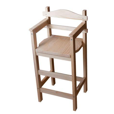 chaise haute bébé en bois chaise haute en bois quot sagard quot au coeur 2
