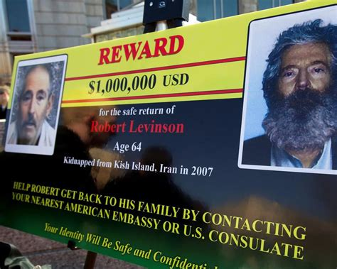 Trump says he 'won't accept' former FBI agent Robert Levinson has died in Iran
