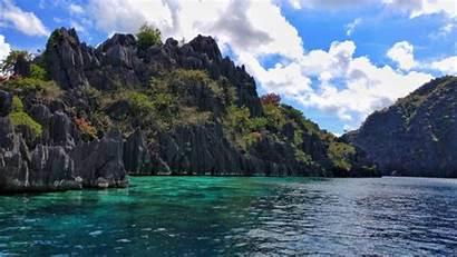 Palawan Coron Lagoon Twin Wallpapers 4k Desktop