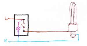 schema elettrico interruttore con spia luminosa fare di una mosca