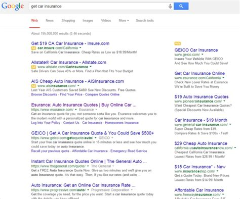 creating landing pages  work auto insurance
