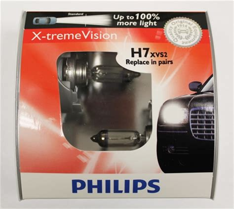 philips xtreme vision h7 philips h7 x treme vision halogen bulbs 12972xvs2