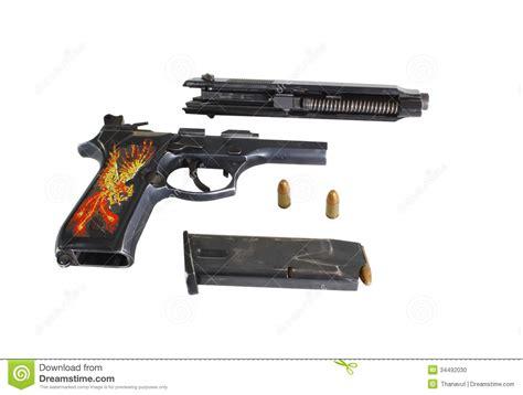 9 Mm Gun Stock Photo - Image: 34492030