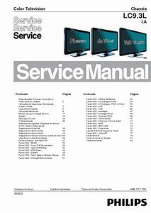 Philips Chassis Lc9 3lla 40pfl6605d Brasil Service Manual