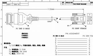 Detail Feedback Questions About Obd 2 Cable 16 Pin To Db9
