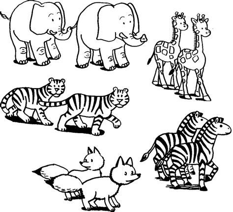 disegni per bambini da colorare di animali disegni di animali da stare e colorare per bambini