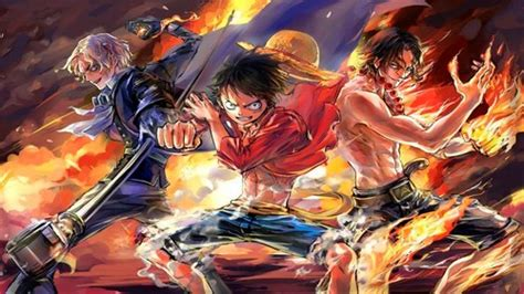 piece images luffy ace sabo hd wallpaper