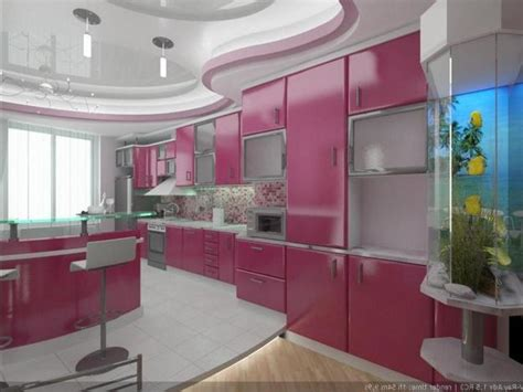 pink and purple kitchen purple and pink kitchen colors adding retro vibe to modern kitchen design and decor