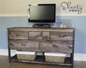 Camp Dresser Pottery Barn by Ana White Wide Cabin Dresser Metal Slides Diy Projects