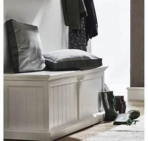Coffre Rangement Bois : meubles salle de bain mobilier bois teck lecomptoirdesauthentics ~ Teatrodelosmanantiales.com Idées de Décoration