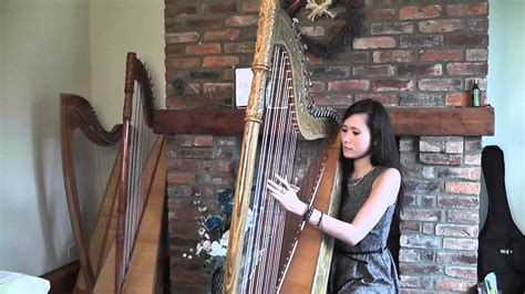 yuki  hana snow flower harp cover youtube