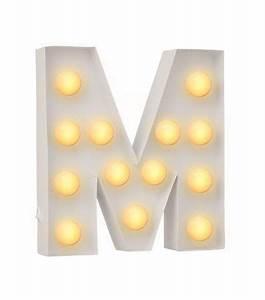 Lettre Lumineuse Deco : lettre lumineuse m hema for the kids 39 room pinterest lettres lumineuses lettres et je ~ Teatrodelosmanantiales.com Idées de Décoration