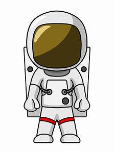 Free Cartoon Astronaut Clip Art