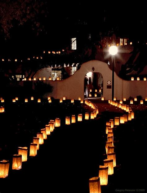 new mexico luminaries christmas lights new mexico