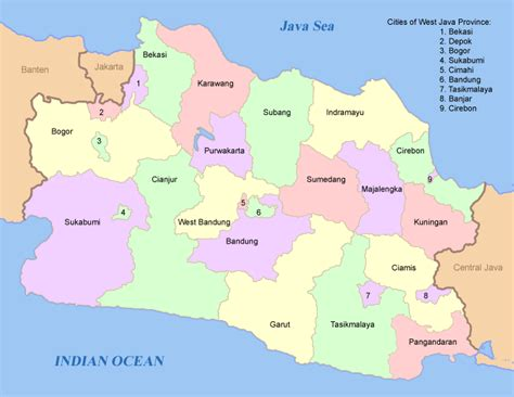list  regencies  cities  indonesia wikipedia