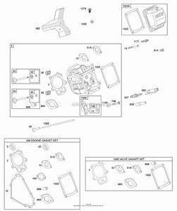 Briggs And Stratton 20g414-0111-e1 Parts Diagram For Cylinder Head  Gasket Set