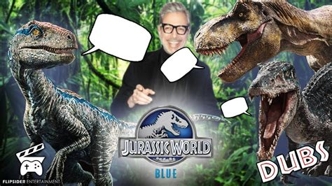 if dinosaurs in jurassic world blue vr could talk blue s