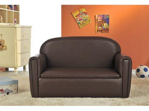 canapé pour enfants canapé woopie pour enfant en simili chocolat ou argenté