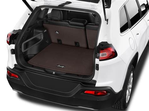 image  jeep cherokee limited fwd trunk size