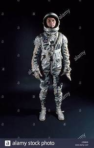 Portrait of male astronaut wearing space suit Stock Photo ...