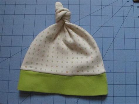 baby knot hat pattern  tutorial allfreesewingcom