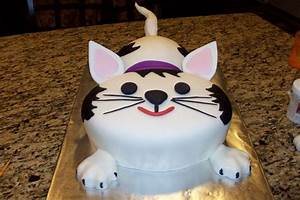 Pin Happy Birthday Cat Purrise Hfboards Cake on Pinterest