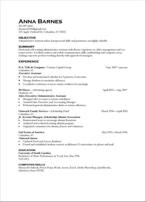 resumes examples skills abilities resumes examples