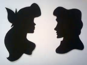 Ariel and Eric Silhouette
