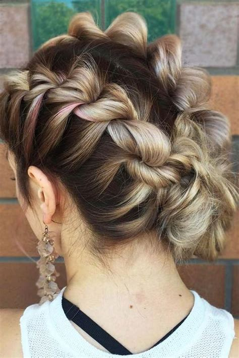 stunning braids  short hair    love