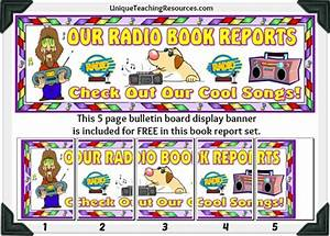 Radio Book Report Project: templates, worksheets, grading ...