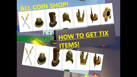 tix items  strucid  tix dominus