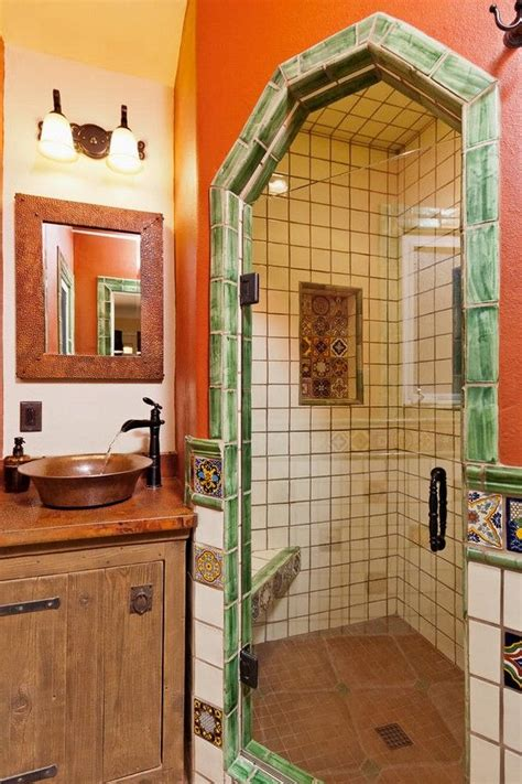 mexican bathroom remodel images  pinterest